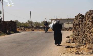 كيف يعيش أهالي منطقة اللجاة في درعا؟