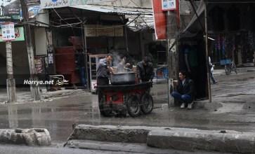 صور من الغوطة الشرقية المحاصرة – عدسة أمير أبو جواد