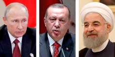 هل يمهد بوتين وأردوغان وروحاني لكتابة الفصل الأخير في الأزمة السورية؟
