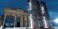 عمل فني مستلهم من الحرب السورية وسط برلين
