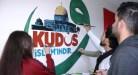 """""""القدس إسلامية"""".. لوحة بريشة سوريين بتركيا"""