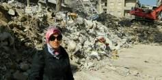 «أسماء دشان» صوت سوريا الحرة في إيطاليا