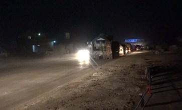 توجه رتل عسكري تركي إلى تل الطوقان شرقي إدلب لإنشاء نقطة مراقبة جديدة
