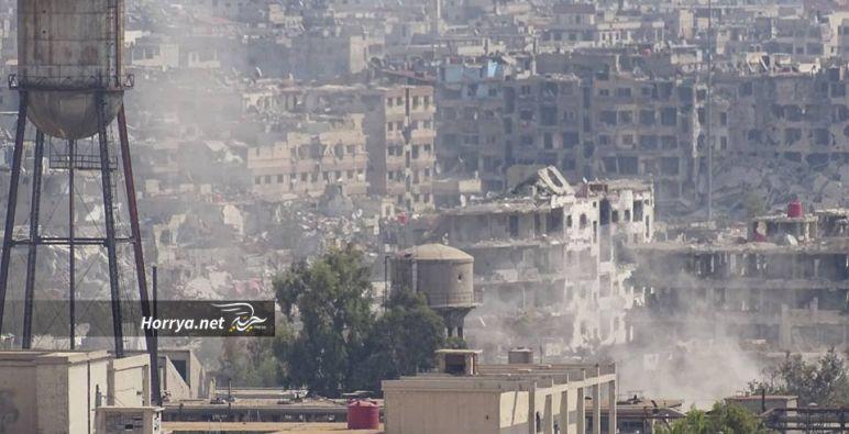 روسيا تقترح تشكيل مجموعة مشتركة لإعادة إعمار سوريا
