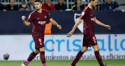برشلونة يهزم ملقة ويواصل التحليق في صدارة الدوري الإسباني