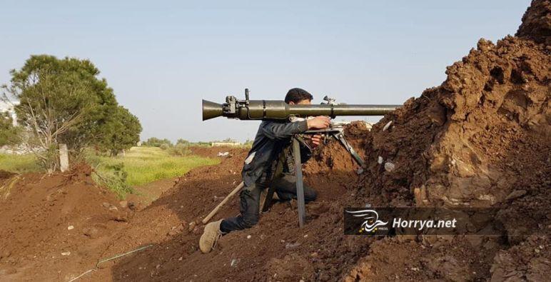 """الجيش الحر يستعد لمعركة ضد """"داعش"""" في الجنوب السوري"""