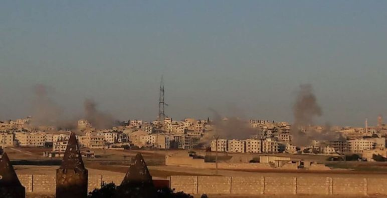 شهداء وجرحى مدنيون في حلب في قصف لقوات الأسد