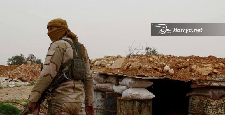 """""""تحرير الشام"""" توقع قتلى وجرحى في صفوف قوات الأسد غرب حلب وجنوبها"""