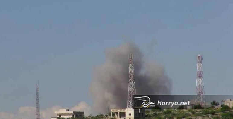 إصابة امرأة وثلاثة أطفال بقصف لنظام الأسد على إدلب وحلب