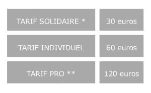 tableau tarif gris