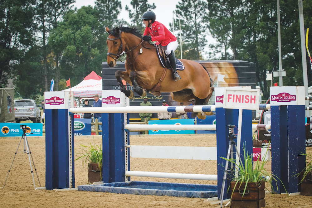 Lisa Williams and Discovery Campbell on the road to WEG