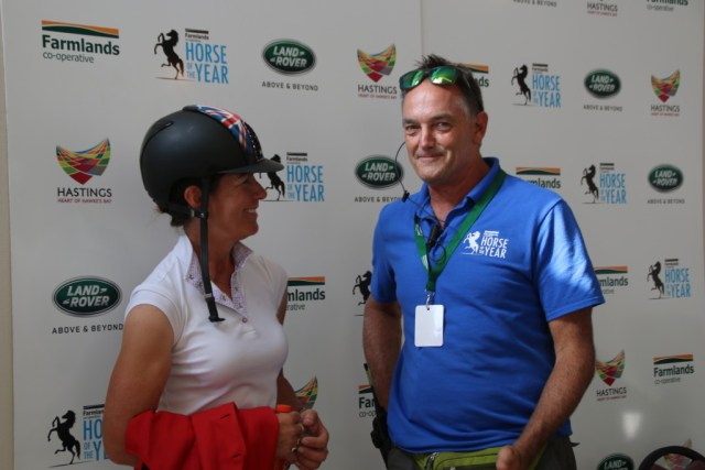 Dave Mee catches up with Helen McNaught at the final press conference