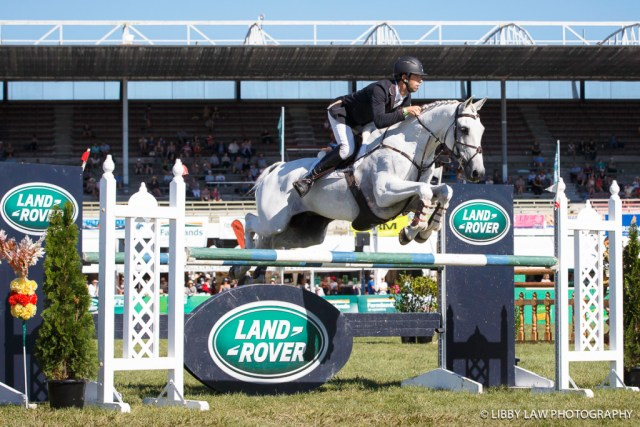 NZL-Clarke Johnstone (BALMORAL SENSATION) INTERIM-1ST: LAND ROVER CIC3*: 2016 NZL-Horse of the Year Show, Hawkes Bay Showgrounds, Hastings (Friday 4 March) CREDIT: Libby Law COPYRIGHT: LIBBY LAW PHOTOGRAPHY