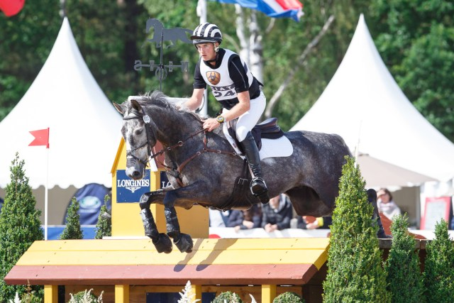 On Amsterdam 21 a the CIC3* in Luhmuhlen, June 2014 (Image: Libby Law)