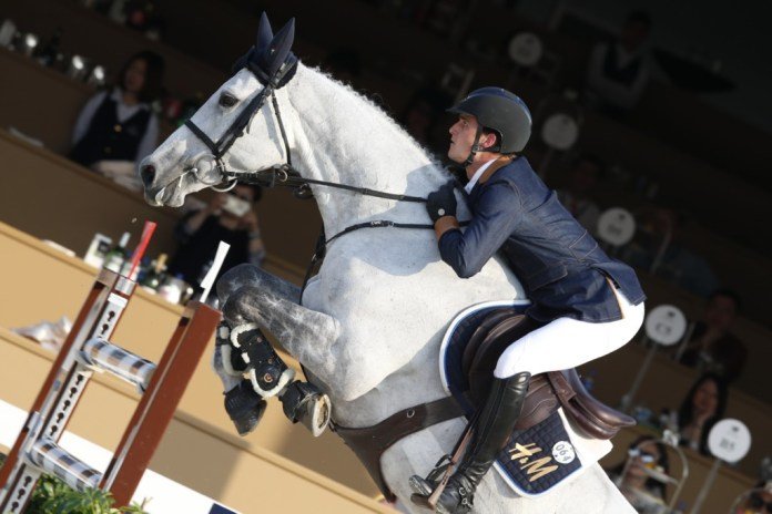 Olivier Philippaerts on H & M Legend Of Love (Image: Stefano Grasso/LGCT)