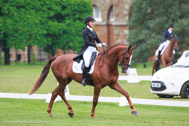Lizzie Brown and Havanna Van Castanaehof are eighth equal in the two-star (Image: Libby Law)