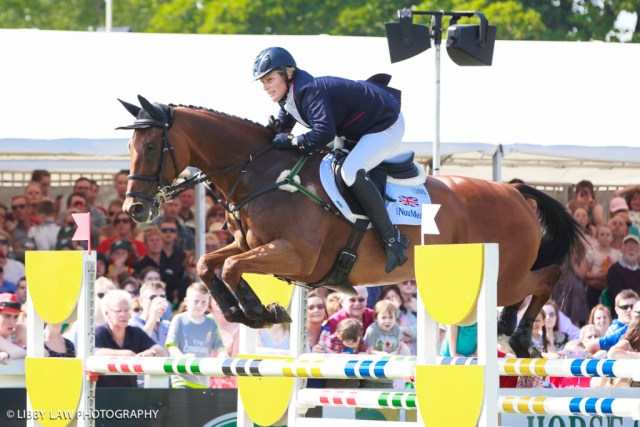 GBR-Zara Tindall (WATKINS) FINAL-8TH: THE IRISH FIELD CCI3* SHOWJUMPING: 2016 IRL-Tattersalls International Horse Trial (Sunday 5 June) CREDIT: Libby Law COPYRIGHT: LIBBY LAW PHOTOGRAPHY