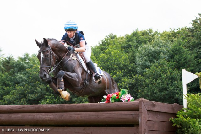 Jonelle Price (Cloud Dancer) looking good in the 8/9yo Section (Image: Libby Law)