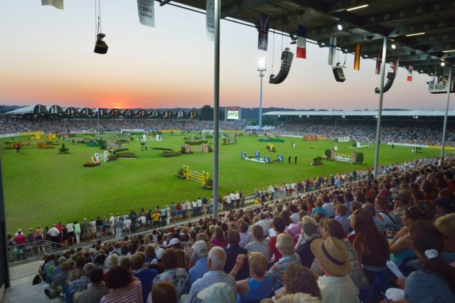 The beautiful Aachen arena. (Image: ©Rolex/Kit Houghton)
