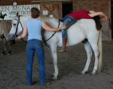 Horseback-Bakcbend