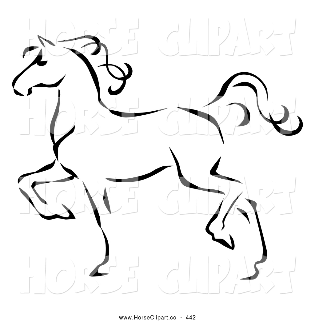 Royalty Free Animal Stock Horse Designs