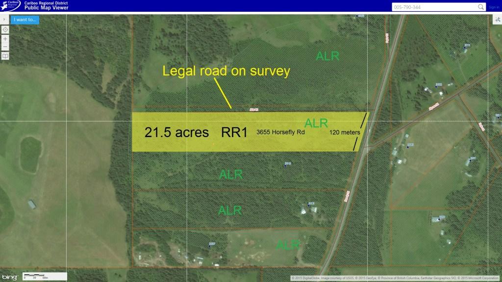 21.5 Acre Property on Horsefly Road near Rose Lake - 3655 Horsefly Road, Horsefly BC