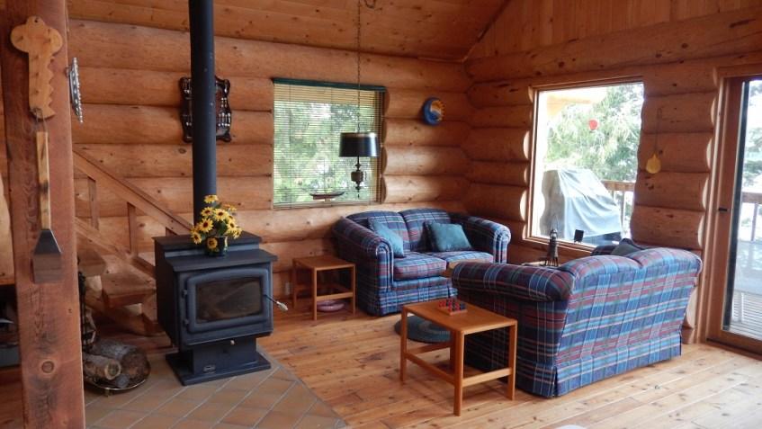 Waterfront Log Home on Horsefly Lake - 6731 Millar Road, Horsefly Lake, BC