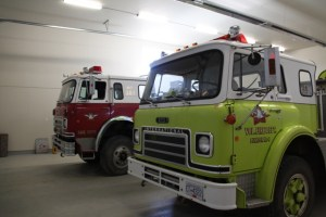 inside the new fire hall