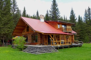 SOLD! Pioneer Log Home with 24 acres on Horsefly River