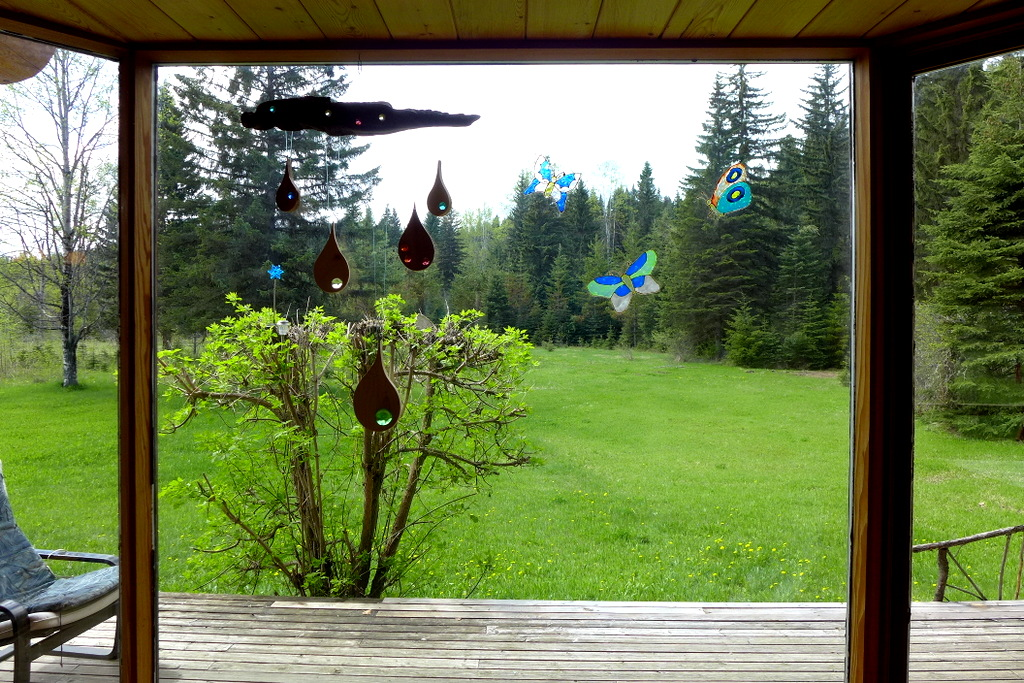 New Price! Pioneer Log Home with 24 acres on Horsefly River $390,000 - 4316 Horsefly-Quesnel Lake Road, Horsefly BC