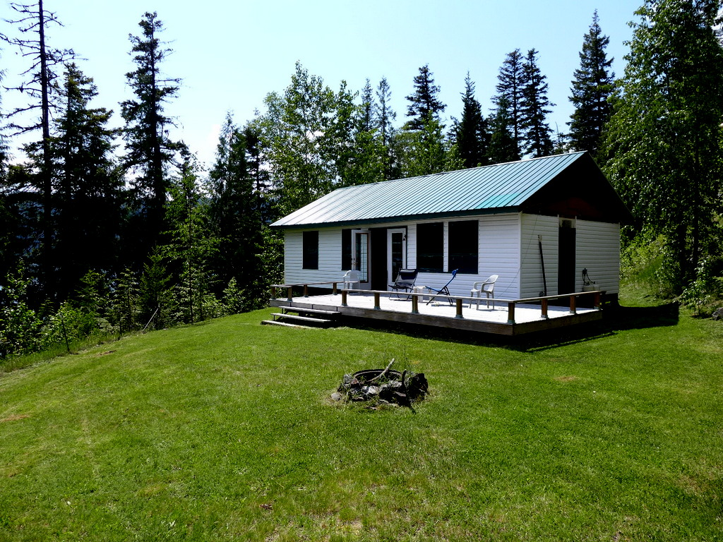 Large Lakefront Acreage with 2 Cabins on Quesnel Lake - 5021 Horsefly-Quesnel Lake Road, Horsefly BC
