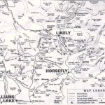 Horsefly Area Map - click to enlarge