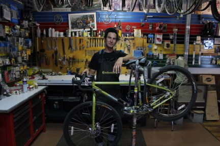 Jon Bailey can take care of your customer service needs whether its building you a town commuter or truing a wheel on your bike, he's going to help you get to where you are going.