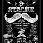 Join the bash to save the stache--a fundraiser benefitting Ethan Deffenbaugh