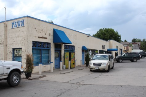 This commercial building at 225 East Eighth Ave, belonging to Jean-Pierre Bleger's business called Mondorivoli LLC, would be prohibited from leasing to recreational pot shops under a proposed amendment to Durango's recreational marijuana ordinance.