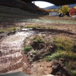 Kids zone at Chapman Hill Flow Trail, built by Alpine Bike Parks, now has a spring running through i...