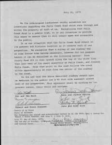 easement agreement