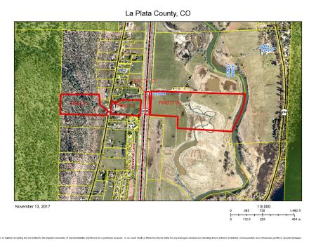 Tract 1, 10.04-acre parcel, Ed and Patti Zink