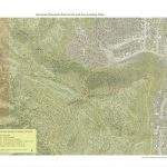 Map of trail closures, meadow restoration, Overend