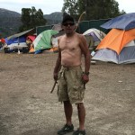 Belligerence on Ella Vita Court by drunk man from County homeless camp, Jeff Hamerly