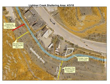 Lightner Creek Sheltering Area proposal