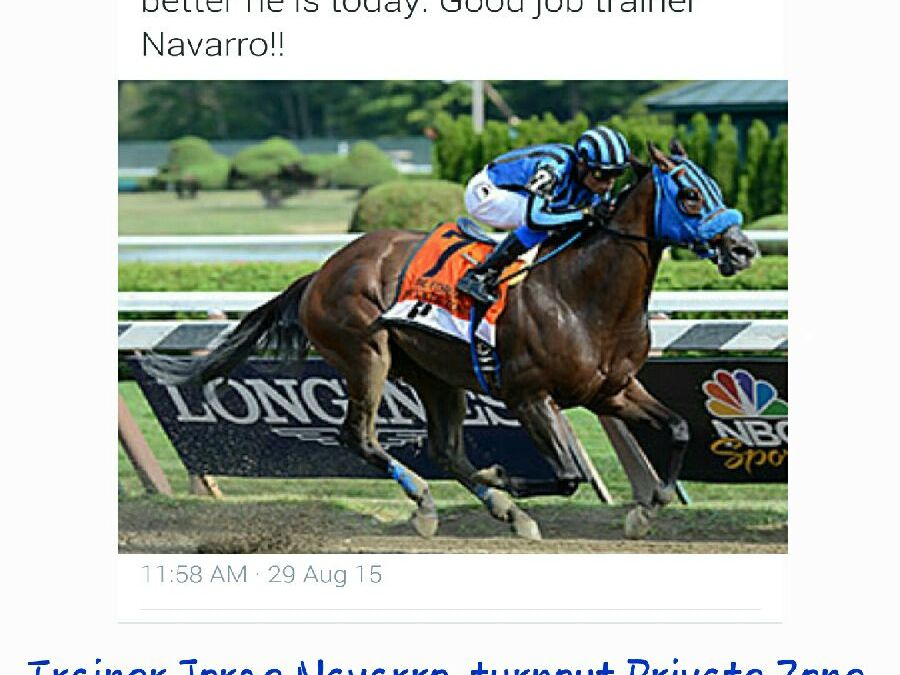Congrats to Jorge Navarro