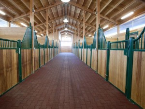 New Stalls by Spane Buildings