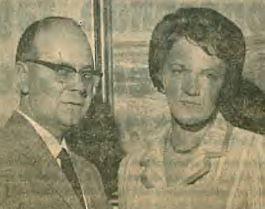Direktør Erik Davidsen og frue