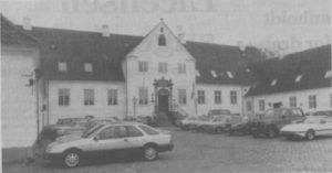 Hovedbygningen på Bygholm Parkhotel er opført i 1775 og blev erhvervet af Horsens kommune i 1918 for at sikre byens udvikling. Gennem 61 år har den rummet et of provinsens mest anerkendte hotelier. (Foto: Povl Klavsen)