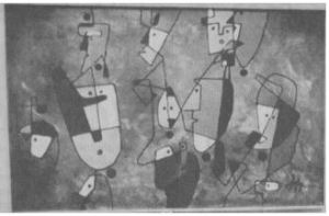 Et billede fra udstillingen.