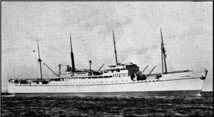 """I 1948 rejste man med skib til USA. I dette tilfælde med ØK """"Falstria""""."""