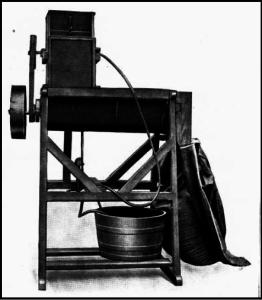 """Bejdsemaskinen """"Stensballe"""", 1933."""