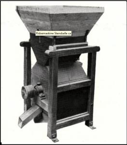 "Ridsemakinen ""Stensballe"", ca. 1930."