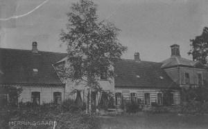 Merringgård som den så ud i 1906.